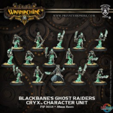 Cryx Blackbane´s Ghost Raiders   (15)